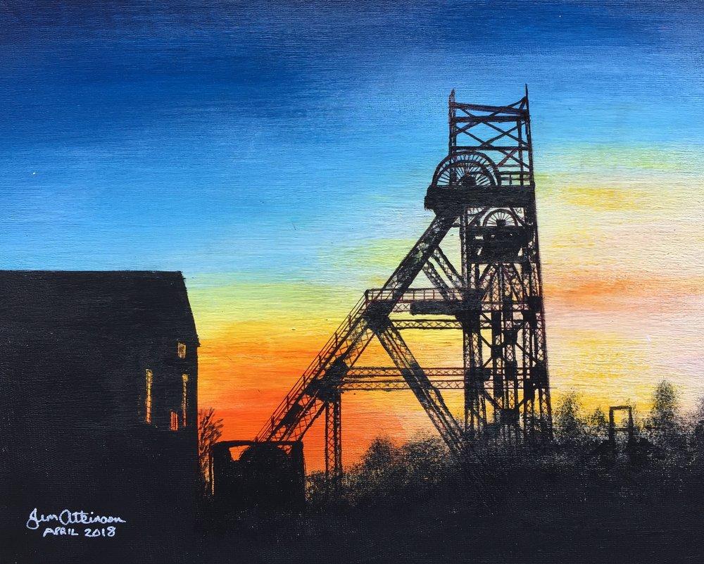 Astley Mine - Lancashire mining Museum, Astley.