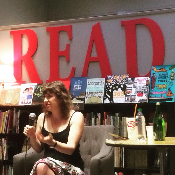 Erika Krouse at Chevalier's Books, Los Angeles