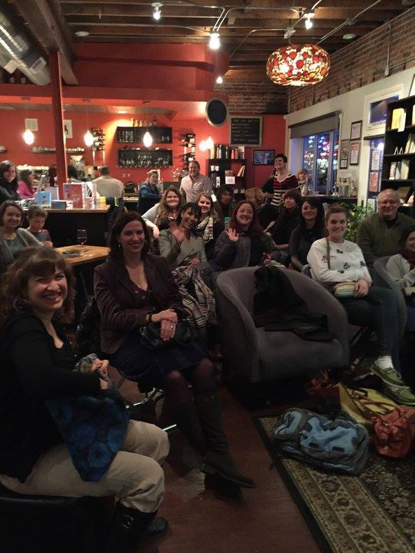 Hanging out with Jenny Shank and the Regis MFA program at The Book Bar