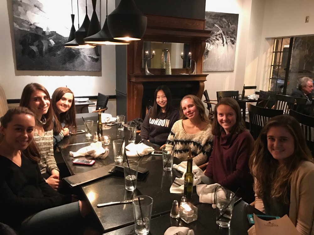 February 2: Executive Board Dinner