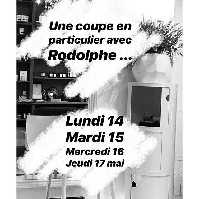 «Une coupe en particulier» RODOLPHE sera présent à @atelierdecolorationbxl du lundi 14 au jeudi 17 mai. ✨ N'oubliez pas de prendre rdv au 02.511.16.00 💇♀️