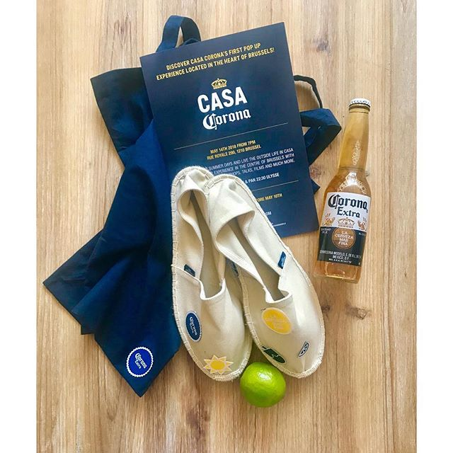 We're almost there : #casacoronabxl Pop up experience in Brussels 🌴🍻 with @corona @borisagency @isobar_belgium and @anheuserbusch #beready #soon #brussels #apero #corona #casacoronabrussels