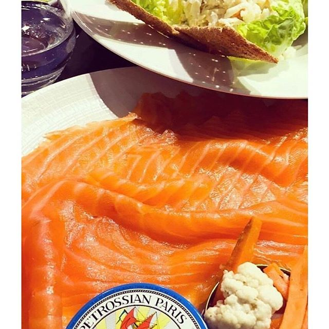 @petrossianbelgique smoked salmon is the best dish to enjoy when the weather gets hot like these days ☀️😍 #petrossiancaviar #food #brussels #heat
