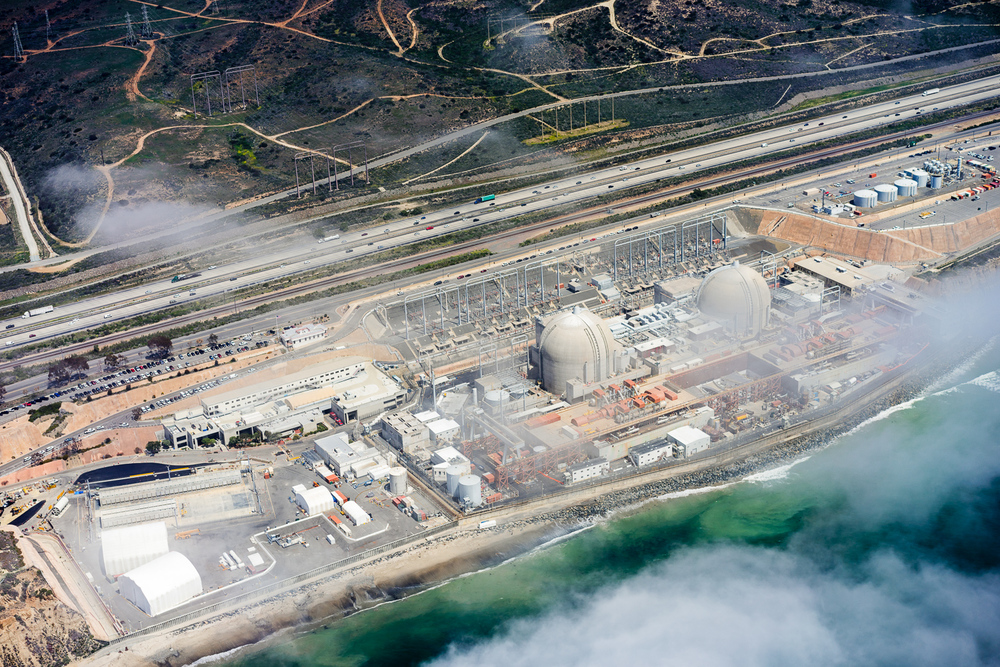 Aerial View of San Onofre Nuclear Generating Station