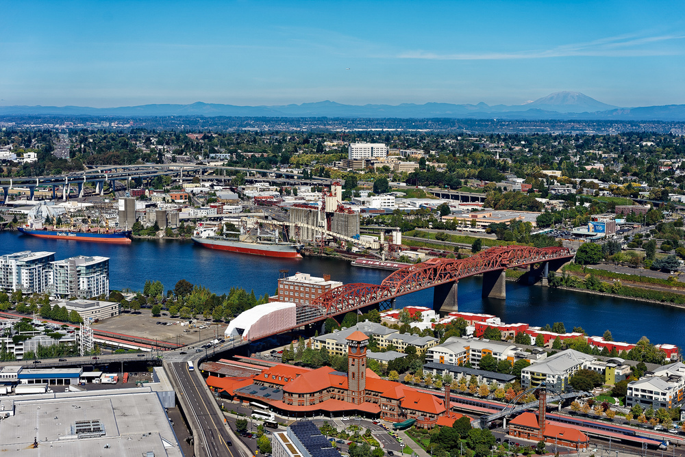 Portland Aerial Photography