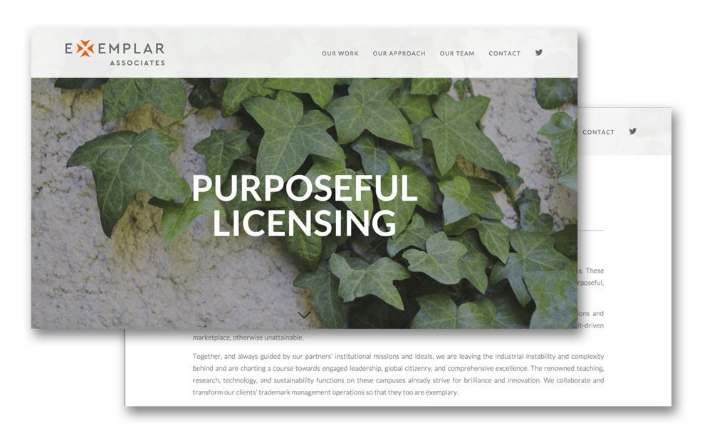 see the full site at  exemplarassociates.com