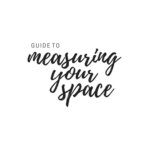 Check out some tips for measuring your space. A rough outline can help us get a better idea of what you need.