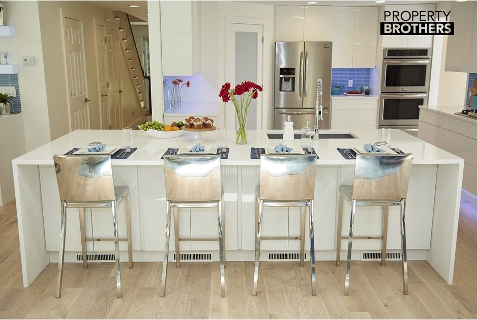 Check Out The Kitchen We Did For The Property Brothers Show On HGTV Today  At 4pm! See The Original Post Here: ...