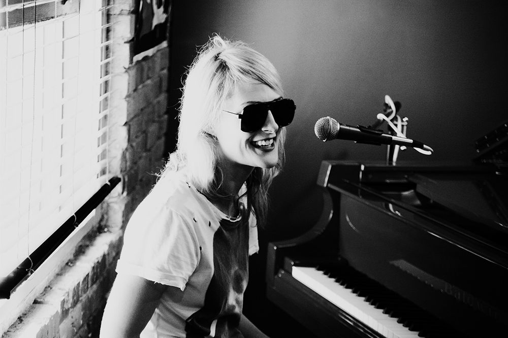 Emily Haines of Metric - on Assignment for Gibson Guitar