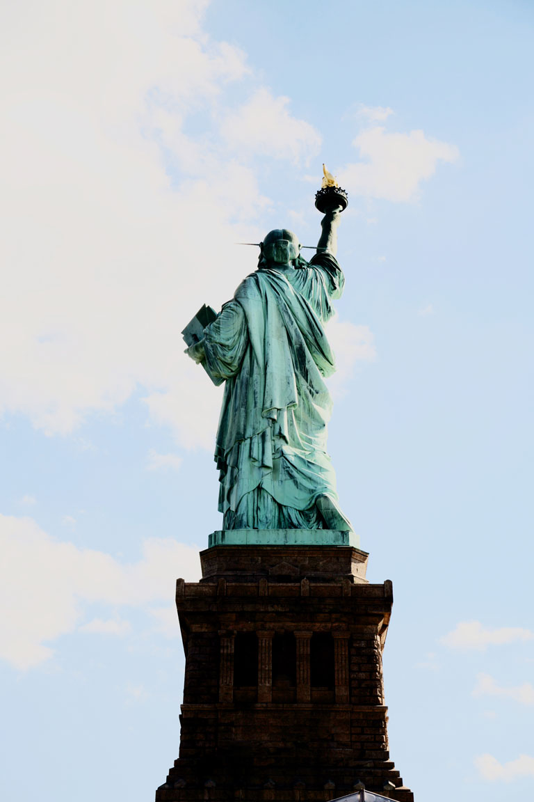 Statue of Liberty. Liberty Island, New York