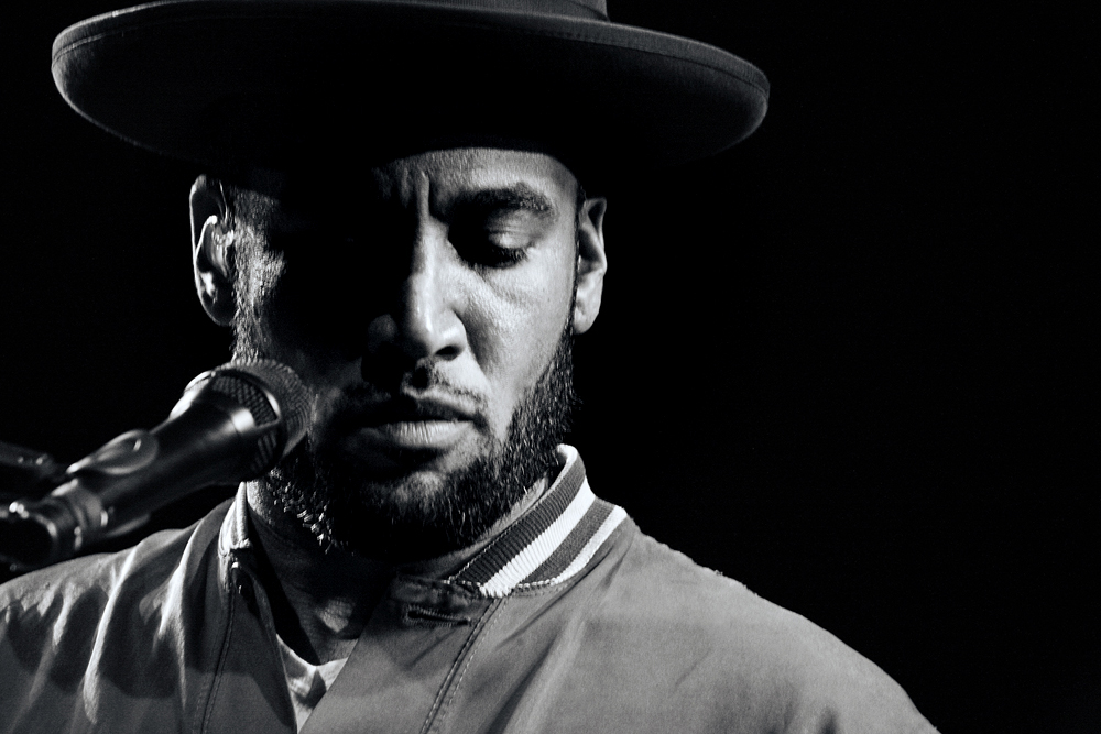 Ben Harper - - on Assignment for The Stranger Newspaper