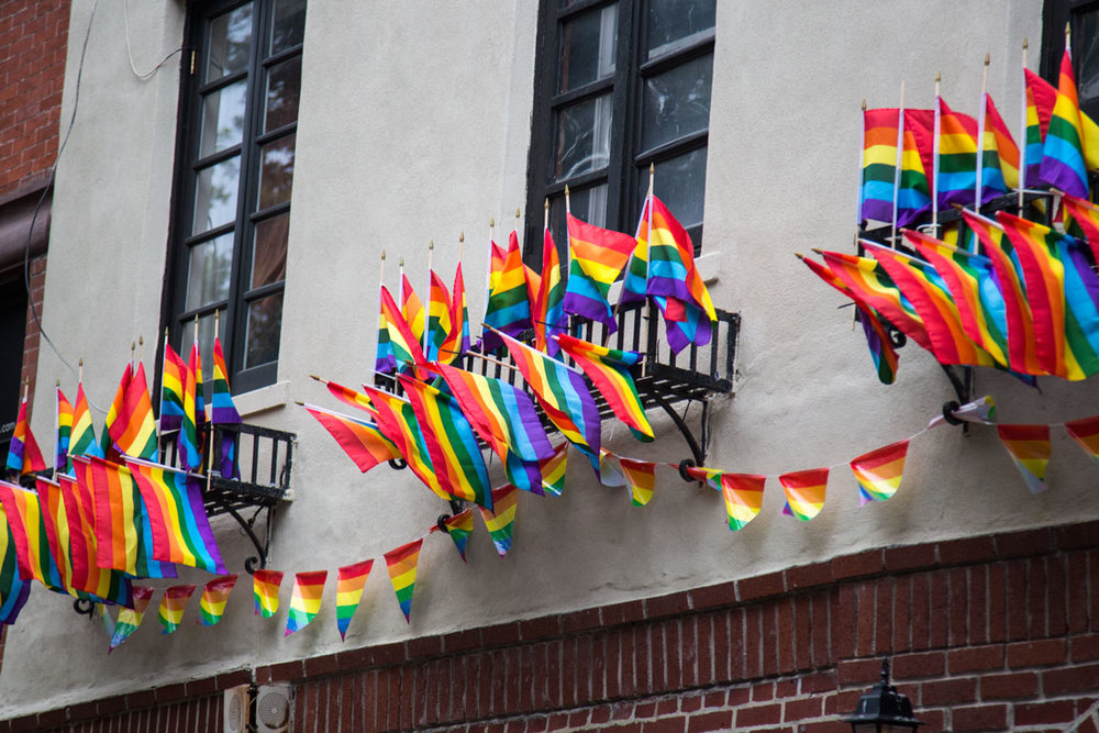 Stonewall Inn celebrates PRIDE. New York, NY