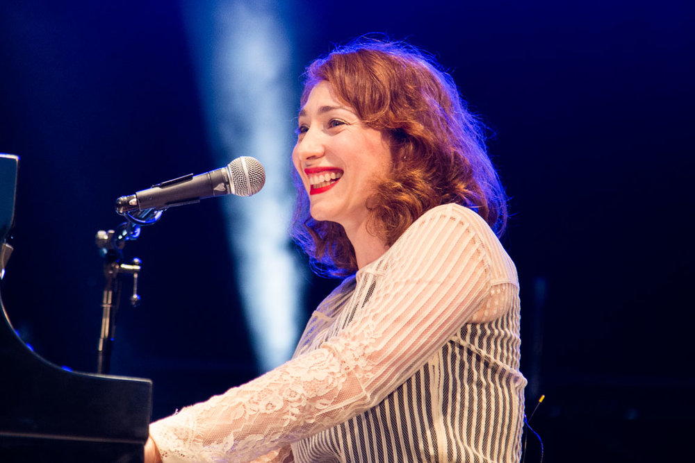 Regina Spektor - on Assignment for BUST Magazine