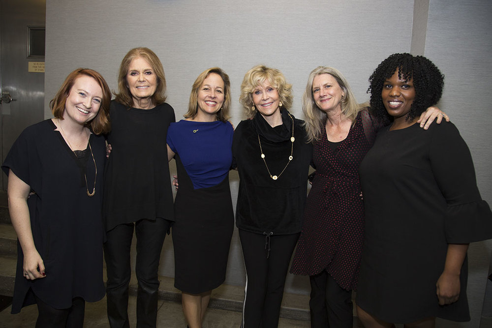 Emerge America celebrates the end of a successful year in electing Emerge alumni into office with Gloria Steinem at her play  Gloria: A Life . New York, NY. 2018