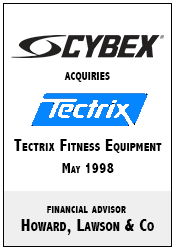 Cybex acquires Tectrix.png