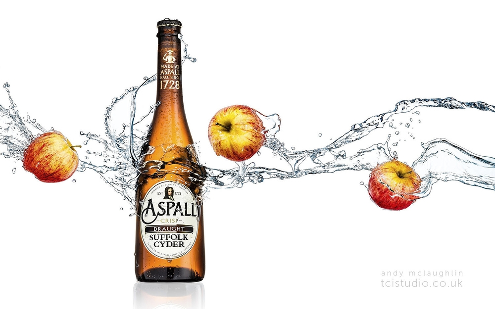 Cider water splash
