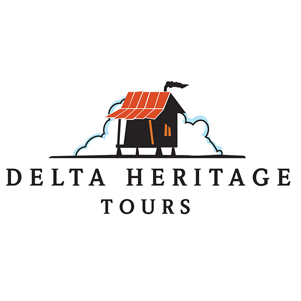 Delta Heritage Tours  / Logo, Brochure, Photography, +  Website