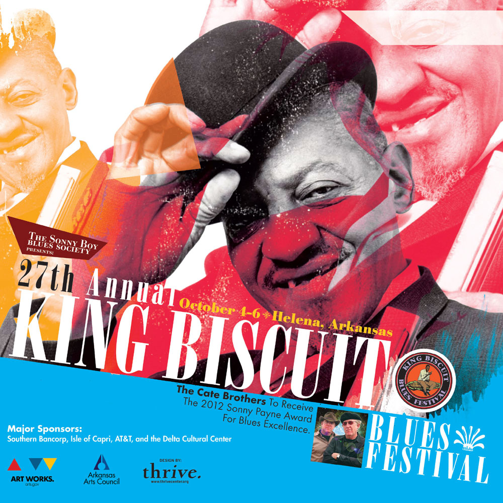 King Biscuit Blues Festival + Helena Daily World / Newspaper Insert Cover