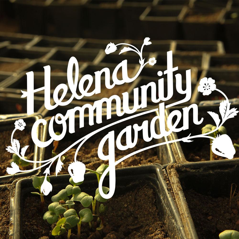 Helena Community Garden / Logo