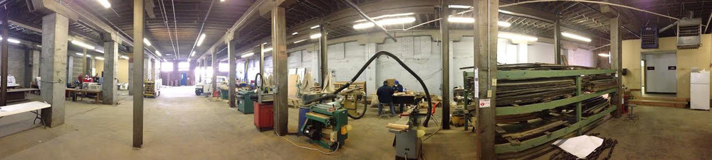 Wood Shop / Light Manufacturing Space