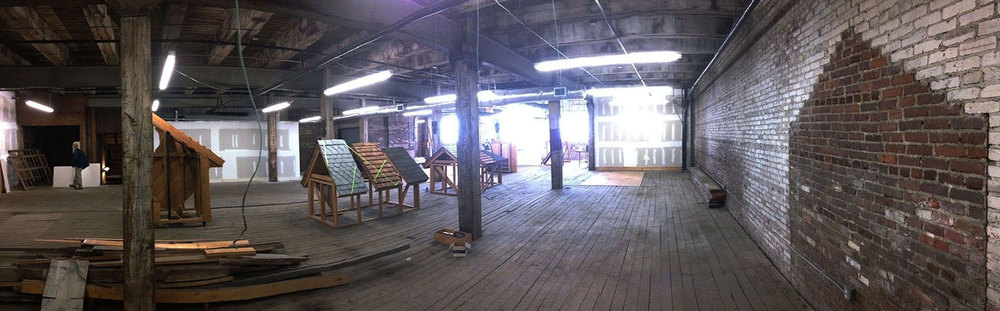 5,600 sq. ft. Collaborative Studio Space (under construction)