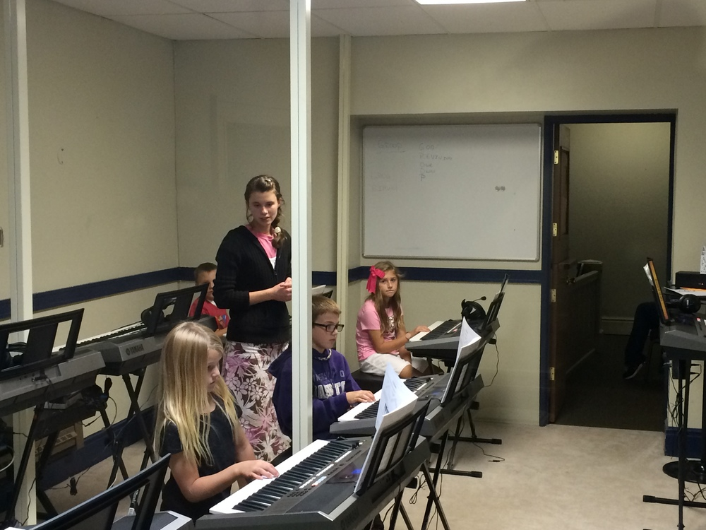 Beginner Piano in our Piano Lab