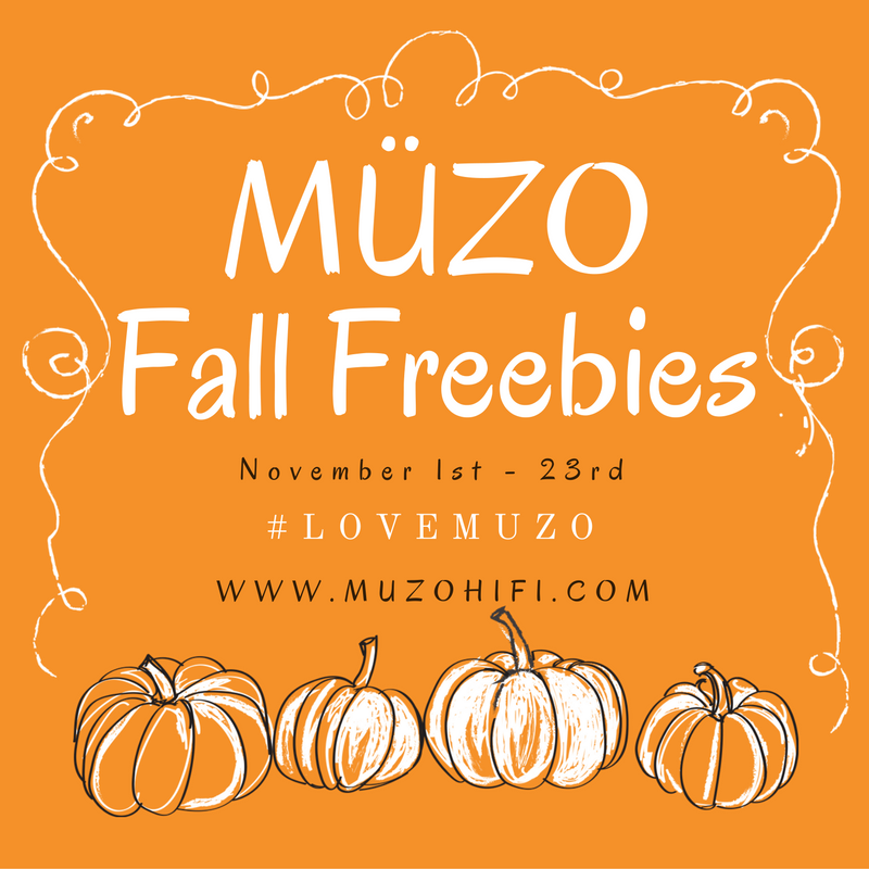 "Tis the season for pumpkin spice and giveaways! That's right, MUZO is doing yet another free giveaway! This time we are giving away MUZO stickers and tote bags to multiple winners!!! If you are interested in entering our fall giveaway, then all you need to is: ·      Follow us on either Instagram or Facebook ·      Take a picture that shows your favorite thing about the Fall season. ·      Post it with ""#LoveMUZO"""