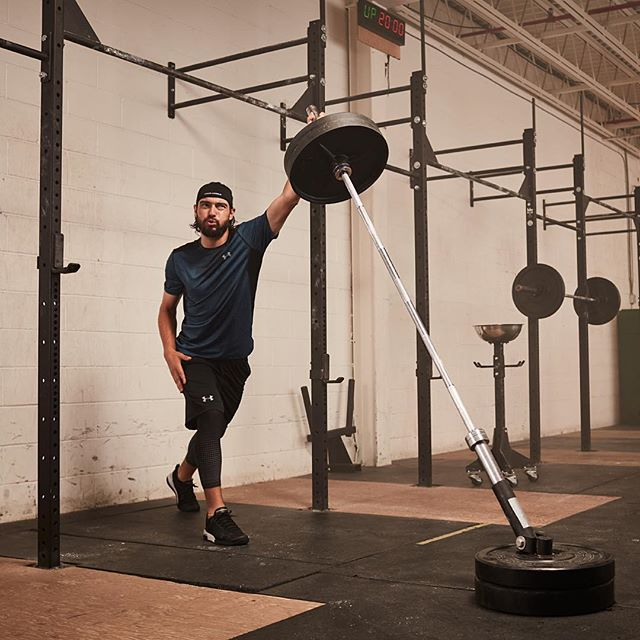 Drew Doughty staying on top of his game.  Shoot last summer with #UnderArmour #LAKings #NHL