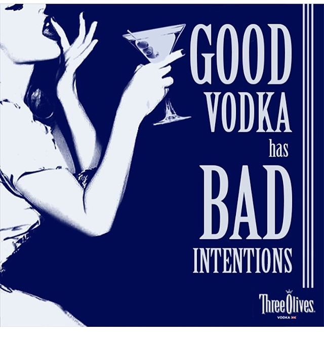 That's right.. even our well drinks are good liquor! Come enjoy $3 Three Olives Vodka all day every Thursday! We'll see you..!