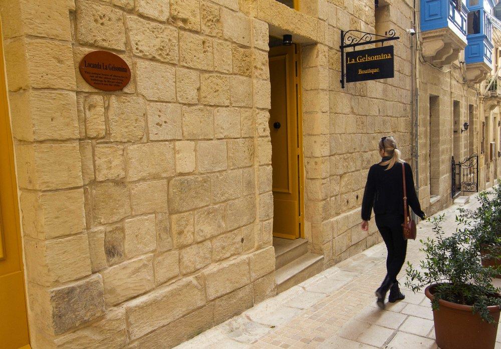Boutique Hotel on the doorstep of Valletta.