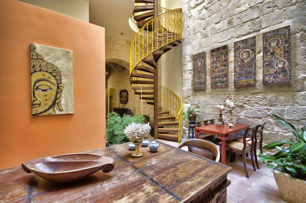 Boutique accommodation in Birgu.