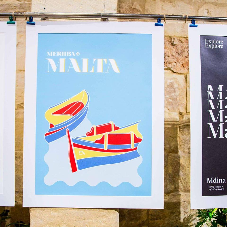 50 posters for Malta