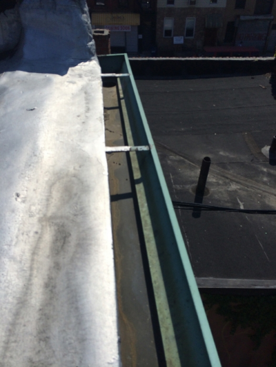 HM's gutters are normally pristine.