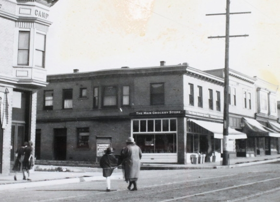 The Main Grocery Store Circa 1908