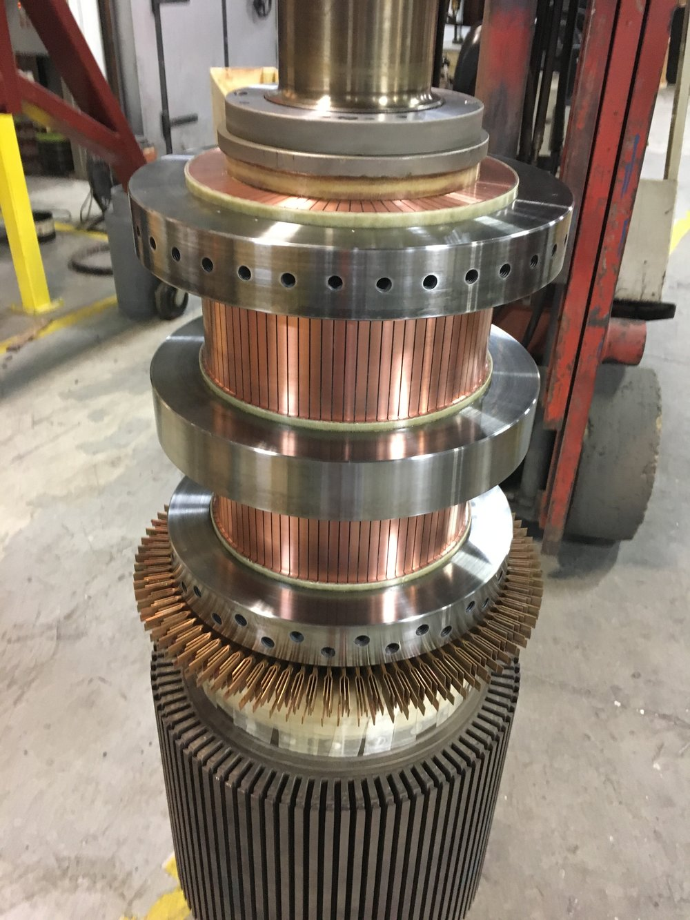 Steel Shrink Ring Commutator