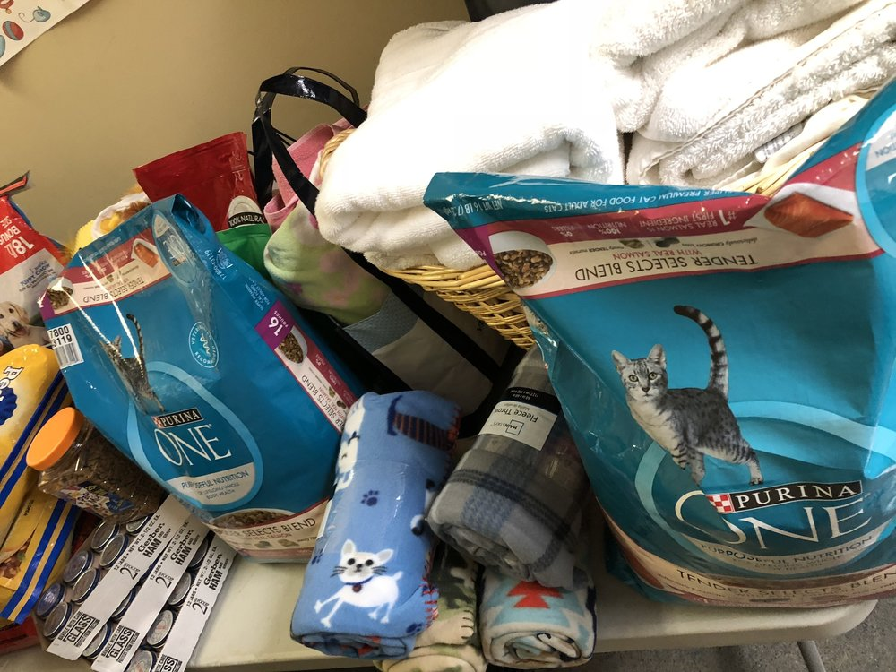 Animal Shelter Donations 1