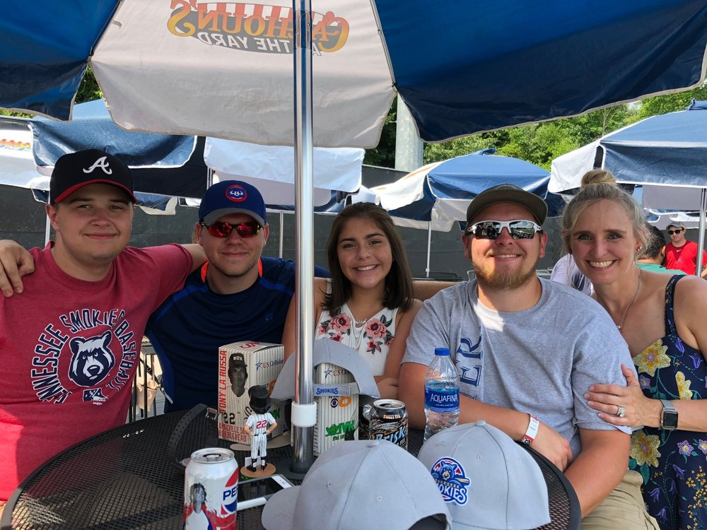 ICC International; Smokies Baseball Employee Outing; Tracy Queen
