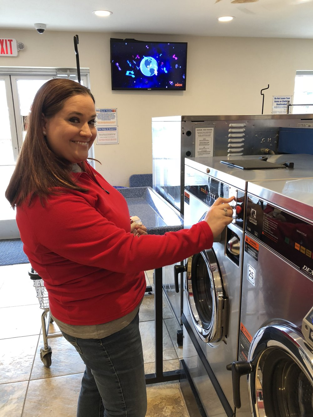 35 Random Acts of Kindness - Laundromat-Michelle-Barbra