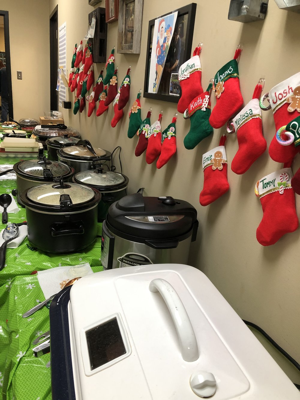 ICC International Christmas Pot Luck Lunch
