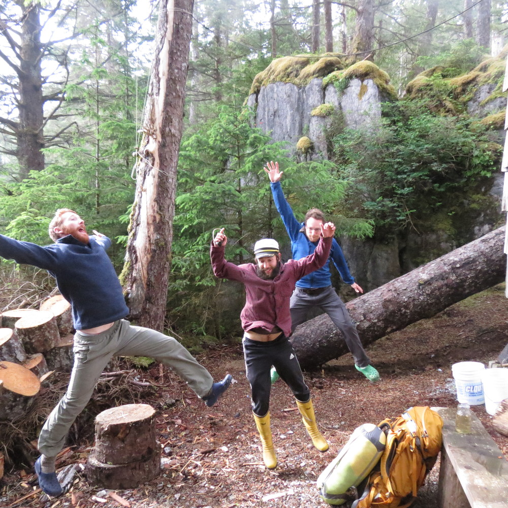 Jumping for Joy after a good week on ELI.JPG
