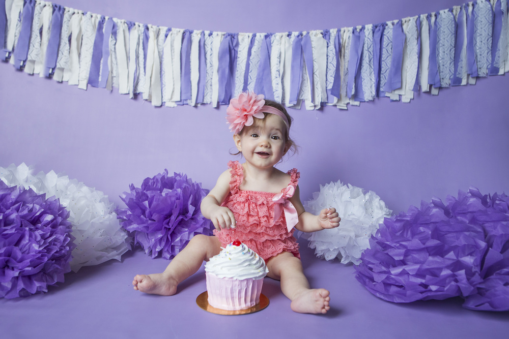 Cake Smash baby photographer toronto