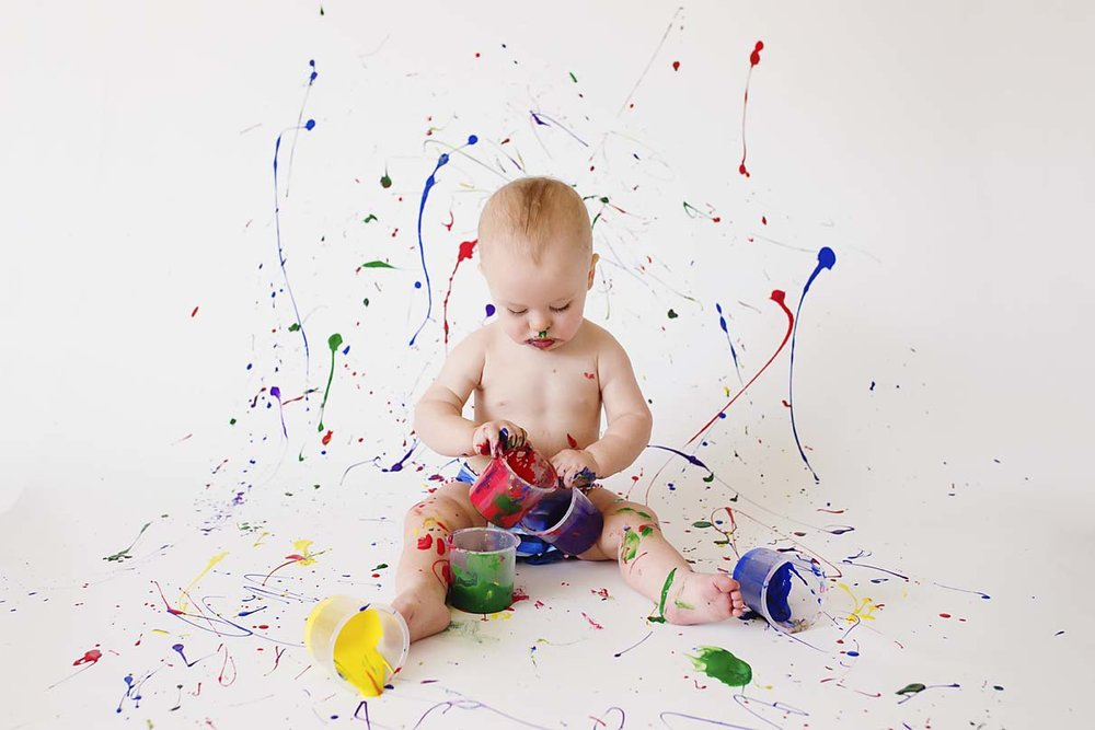baby-boy-first-birthday-photography-ideas-and-inspiration-toronto-photographer-colour-paint-smash-theme