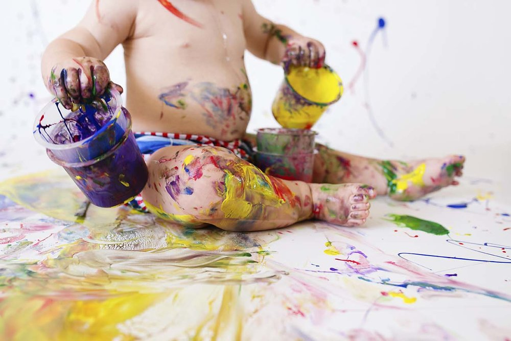 baby-boy-first-birthday-ideas-and-inspiration-toronto-based-photographer-paint-party-colour-theme
