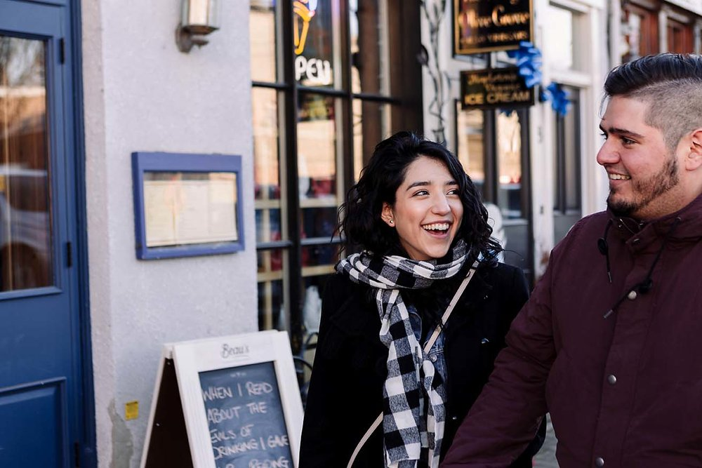 winter engagement photography toronto documentary photographer CopperRed
