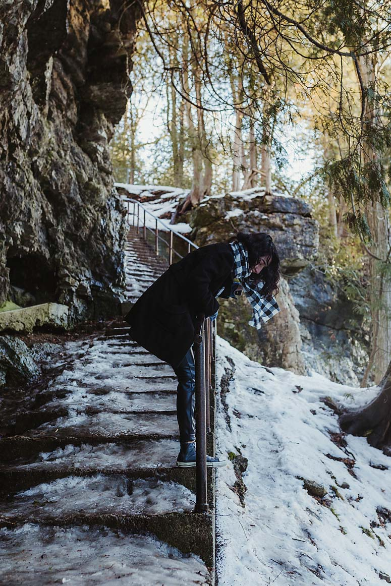 Winter Engagement Photography | Documentary Photographer CopperRed