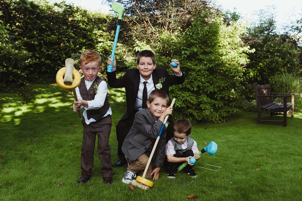toronto wedding photographer copperred page boys