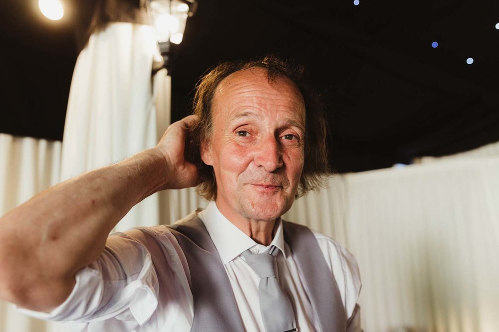 toronto wedding photographer copperred father of the bride