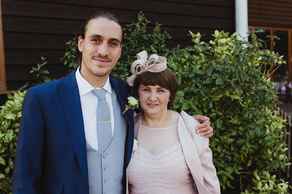 toronto wedding photographer copperred mother of the bride