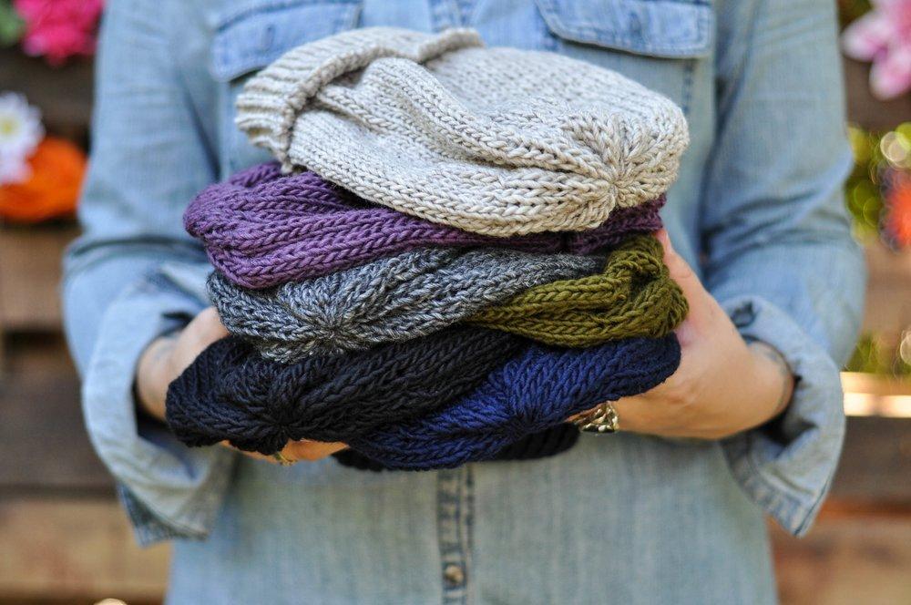 Bulky Knit Fisherman Beanie