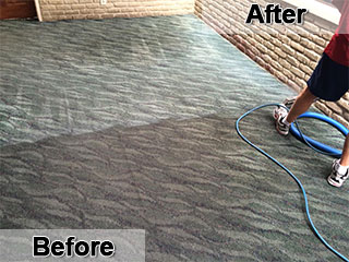 Barclay's Carpet Care - Before & After